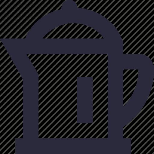 jug, kitchen utensil, pot, vessel, water jug icon