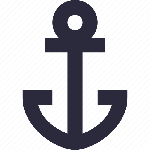 anchor, boat anchor, nautical, sailing boat, ship anchor icon