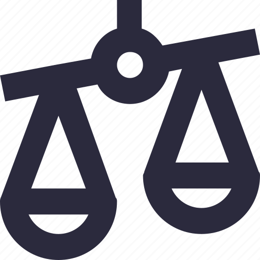 Balance scale, court, justice scale, law, legal icon - Download on Iconfinder