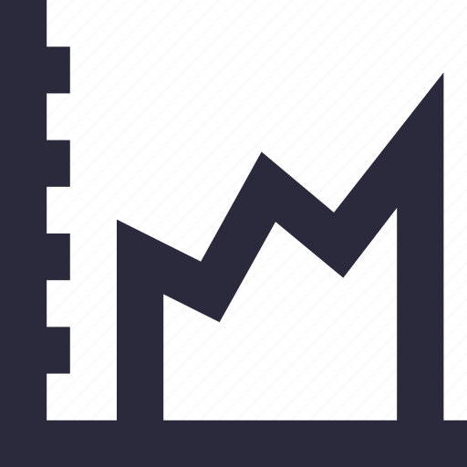business evaluation, finance, financial chart, graph, statistics icon