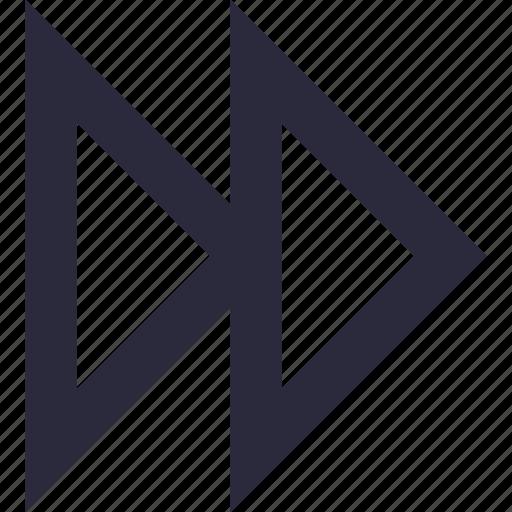 arrow, forward button, multimedia button, music player, next track icon
