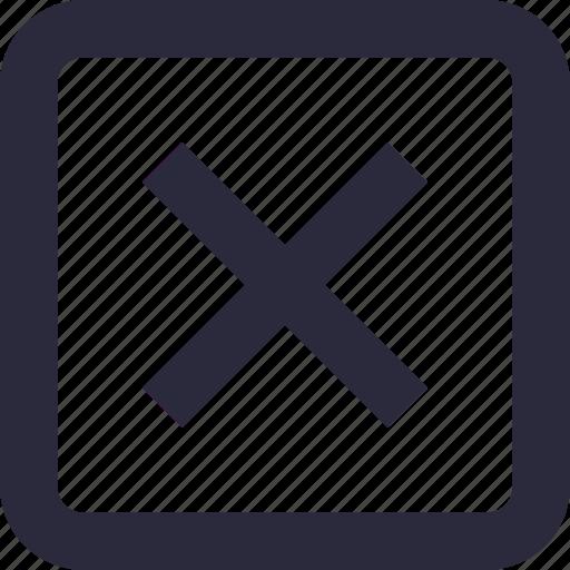 close, cross, delete, multiply, remove icon