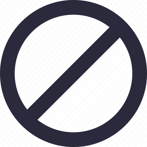 banned, forbidden, no entry, prohibited, restricted icon
