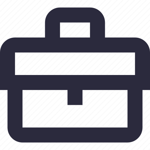 bag, briefcase, business bag, office bag, official bag icon