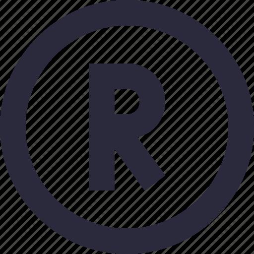 alphabet, english, font, letter r, uppercase icon