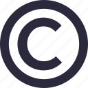 certificate, certification, copyright, software copyright, web copyright icon