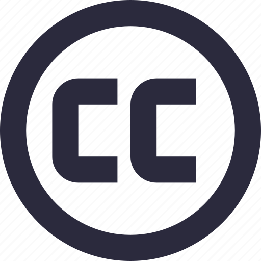 cc, copyright, creative commons, licence, registered icon