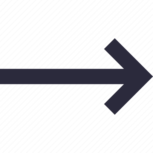 directional arrow, navigational, right, right arrow, road sign icon