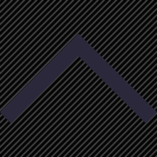 arrow, directional, up, up arrow, upward icon