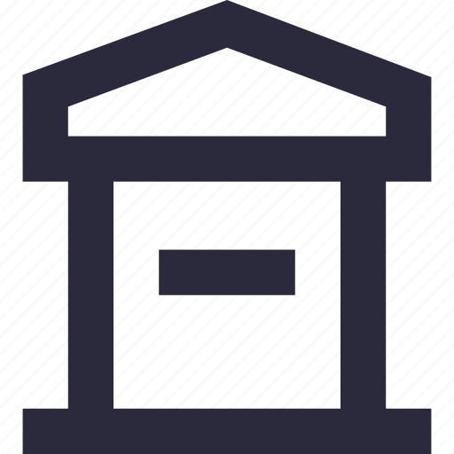 letter hole, letterbox, mail slot, mailbox, post box icon