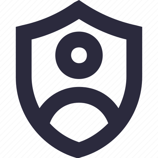 id badge, profile, security, shield, user icon