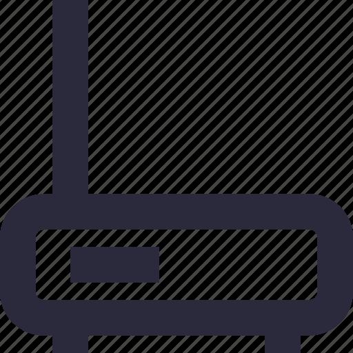 dsl, internet connection, modem, router, wlan icon