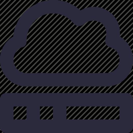 cloud computing, cloud network, hosting, network, server cloud icon