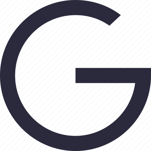 alphabet, english, font, letter g, uppercase icon