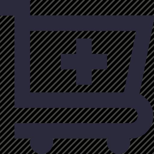 add to cart, pharmacy cart, shopping, shopping cart, shopping trolley icon