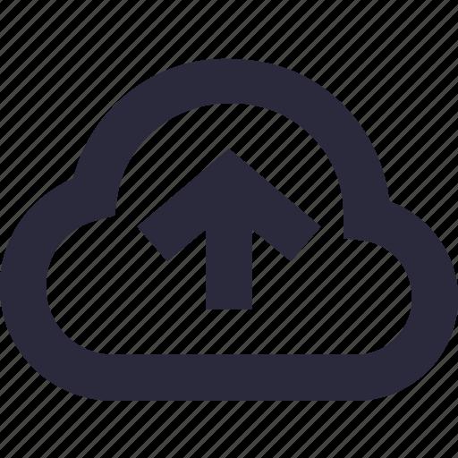 cloud network, cloud sharing, cloud upload, computing, upload icon