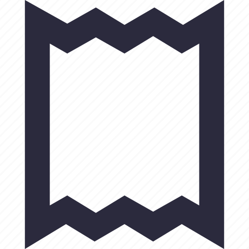 bill, coupon, invoice, tally, voucher icon