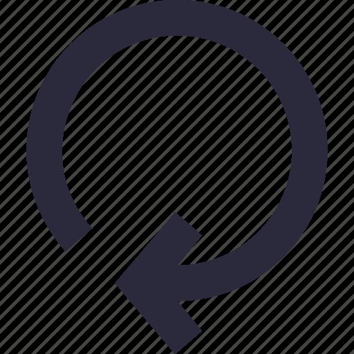 arrow, loading, refresh, reload, sync icon