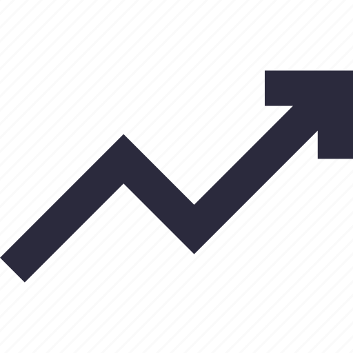analytics, growth, growth chart, line graph, trending icon