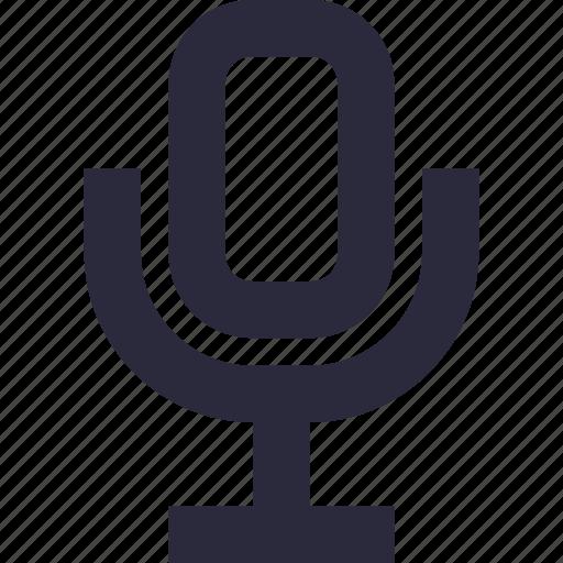 mic, microphone, recording, speak, speech icon
