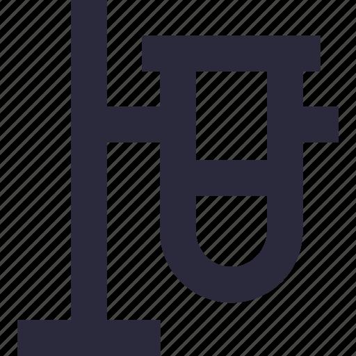 culture tube, experiment, lab test, sample tube, test tube icon