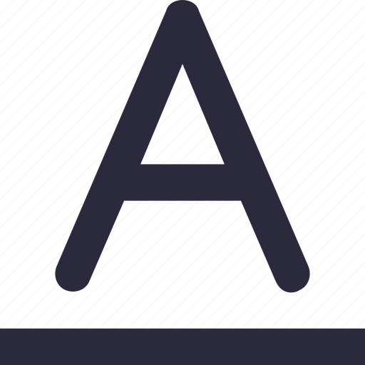 A, alphabet, english, font, letter a, text icon - Download on Iconfinder