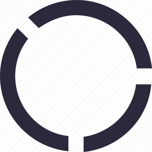 circular chart, donut chart, graph, infographic, statistics icon