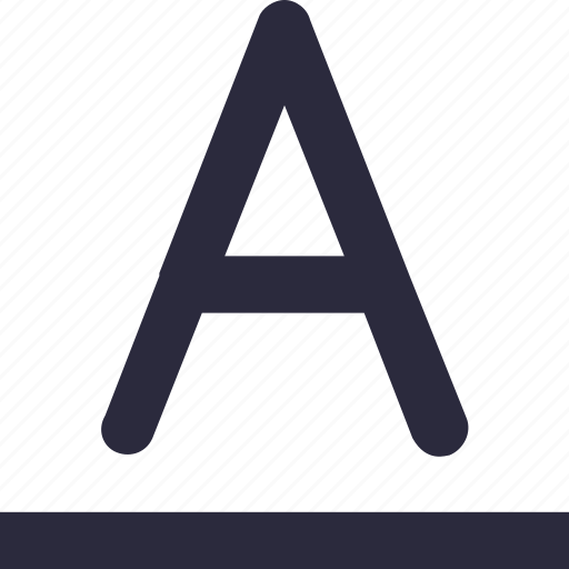 alphabet, english, english letter, letter a, text icon
