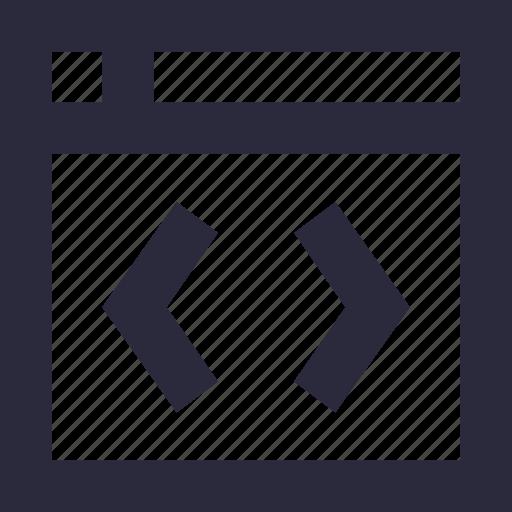 coding, div, html, html coding, web development icon