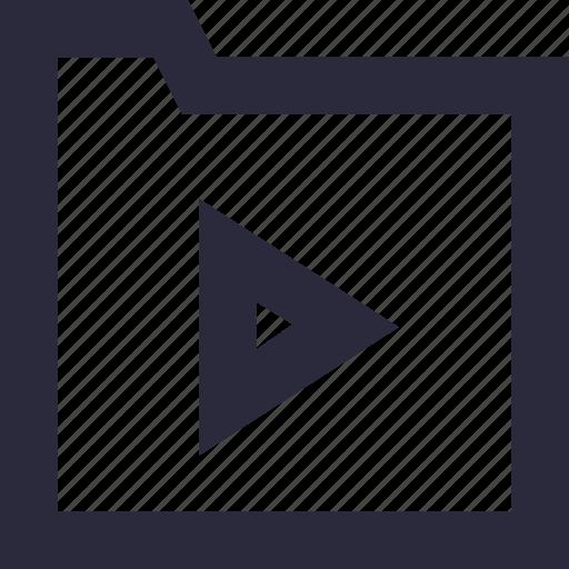 films, media, movies, video folder, videos icon