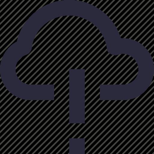 cloud computing, cloud error, computing error, exclamation, warning icon