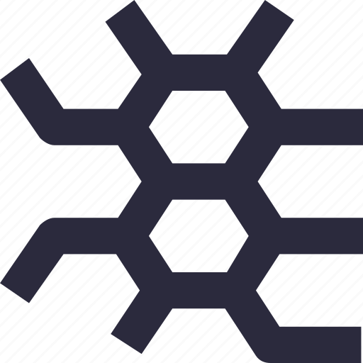 design, hexagons, honeycombs, pattern, seamless icon