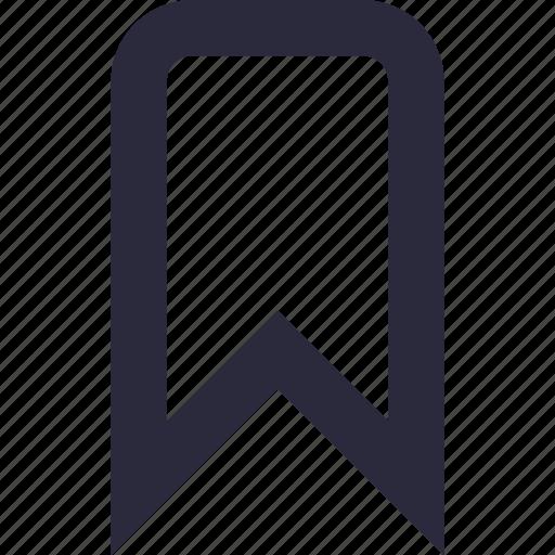 bookmark, favorite, insignia, mark, symbol icon