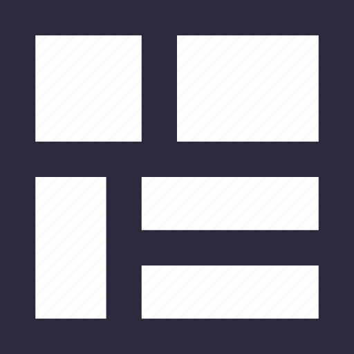 grid, layout, structure, template, window icon