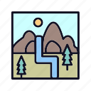 ecology, image, landscape, mountain, nature, photography, picture icon