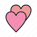 favorite, like, love, romance, sign, valentines, wedding icon