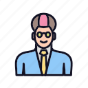 account, business, face, human, man, people, profile icon