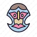 costume, diving, eye, mask, party, scuba, snorkel icon