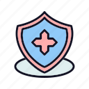 bookmark, care, doctor, emergency, favorite, medical, star icon