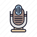 mic, microphone, recording, speak, speaker, speech, voice icon