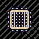 hardware, integrated, integratedcircuit, keyboard, microchip, microprocessor icon