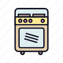 cooking, electronics, equipment, kitchen, microwave, oven, tools icon