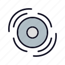 disk, media, music, music-disk, sound, video, volume icon