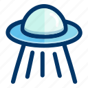 alien, astronomy, cosmos, space, spacecraft, spaceship icon