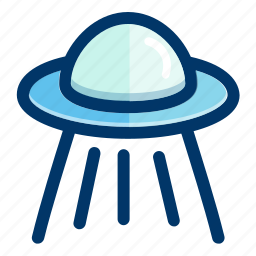 alien, astronomy, cosmos, space, spacecraft, spaceship icon