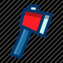 ax, axe, equipment, hatchet, tool, tools icon
