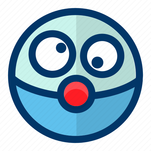 avatar, clown, emoticon, emotion, face icon