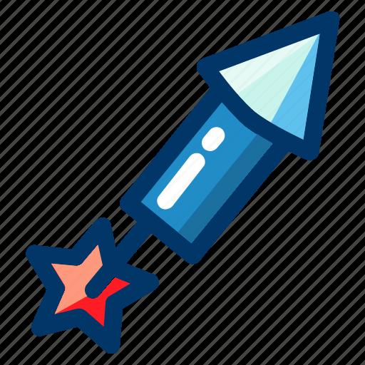 celebration, firework, fireworks, launch, rocket icon