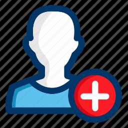 account, avatar, man, new, person, profile, user icon