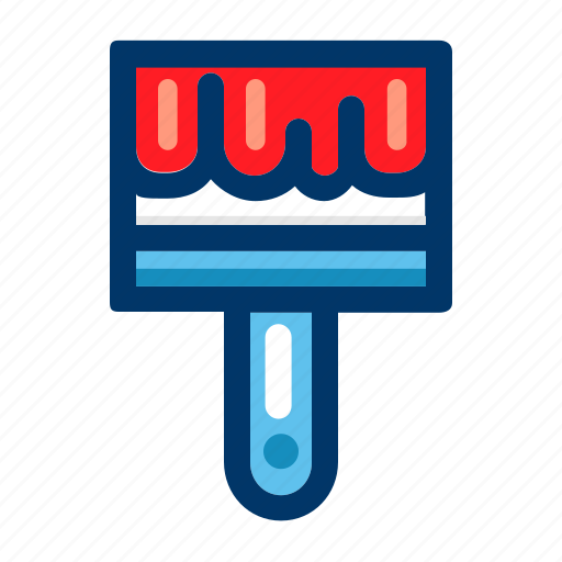 art, brush, design, graphic, paint, painting, tool icon